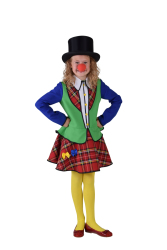 Pipo de Clown Kostuum voor Meisjes