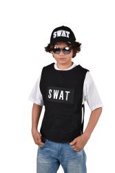 SWAT Vest voor Kinderen - zwart