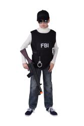 FBI Vest voor Kinderen - zwart