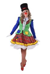 Pipo de Clown Kostuum voor Dames