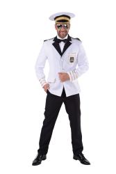 Colbert Kapitein voor Heren - wit/goud