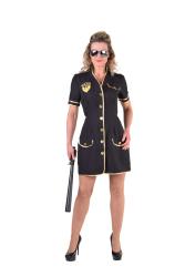 Politie Damesjurk - zwart