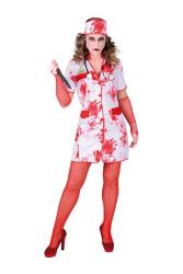 Halloween Verpleegster Dameskostuum - bloed