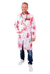 Halloween Doktersjas voor Heren - bloedvlekken
