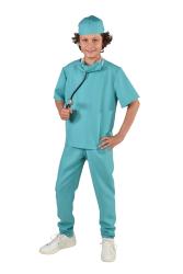 Chirurg Kostuum voor Kinderen - blauw