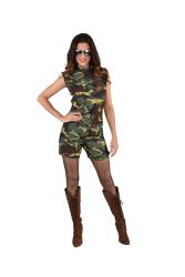 Hotpants voor Dames Legerprint - camouflage