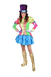 Carnavalsjas voor Dames Circus - brocaat - fluor