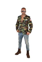 Colbert voor Heren Leger - camouflage