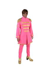 Sgt. Pepper Beatles Kostuum voor Heren - roze