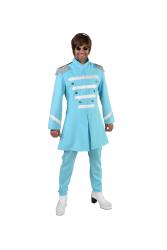 Sgt. Pepper Beatles Kostuum voor Heren - lichtblauw
