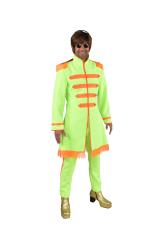 Sgt. Pepper Beatles Kostuum voor Heren - neon groen