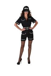 Politie Agente Kostuum voor Dames - marine