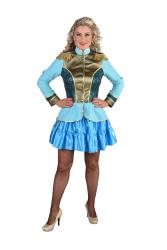 Carnavalsjas voor Dames Uniform - turqoise