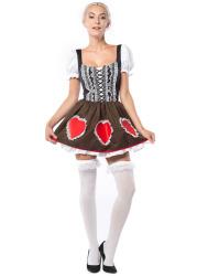 Oktoberfest Dress Heidi Heart
