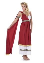 Romeinse vrouw Emperess kostuum