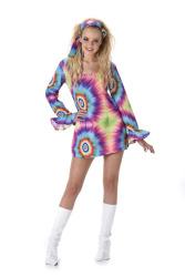 Neon jurkje jaren 70