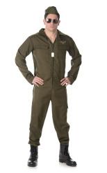 Straaljager piloot kostuum voor heren