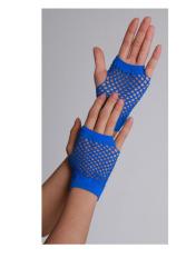 Vingerloze handschoenen kort visnet Blauw