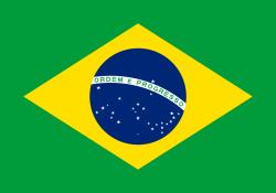 Landenvlag Brazilie 90 x 150 cm