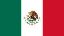 Landenvlag Mexico 90 x 150 cm