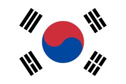 Landenvlag Zuid Korea 90 x 150 cm