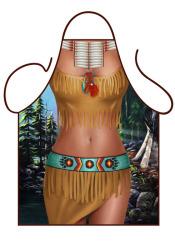 Fun schort - Native American Girl