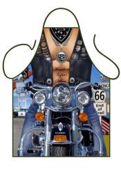 Fun schort - Biker Man
