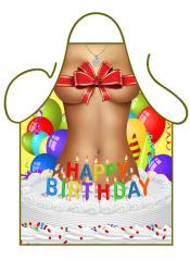 Fun schort - Happy Birthday Girl