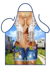 Fun schort - Hippy Girl