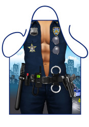 Fun schort - Man Police