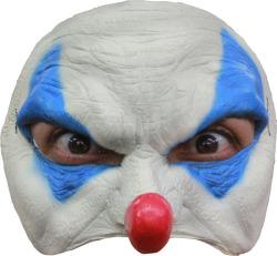 Half Masker Blauw Clown