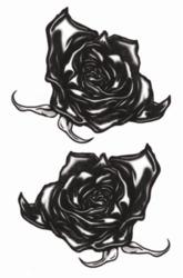 Goth Tattoos - Zwarte Rozen