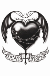 Goth Tattoos - Dead Inside