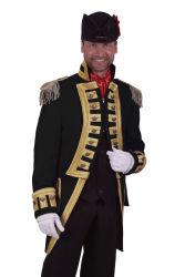 Carnavalsjas ''Nelson'' Deluxe Zwart