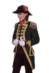 Carnavalsjas ''Nelson'' Dames Zwart