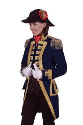 Carnavalsjas ''Nelson'' Dames Marineblauw