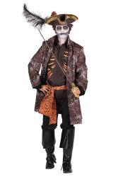 Kostuum Heer ''Ghost pirate''