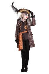 Kostuum Dame ''Ghost pirate''