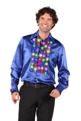 Herenblouse ''Naos'', Blauw-Multi-Color