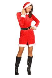 Kerstmeisje ''Holly'', Rood