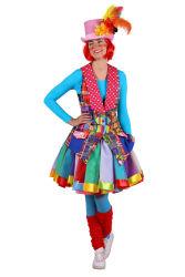 Themavest dame ''Clown'', Mix van kleure