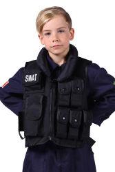 Swat vest kinderen, Zwart