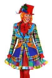 Themajas clown dame ''Pinky'', Mix van k