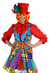 Thema vest clown ''Pinky'', Mix van kleu