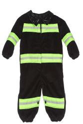 Babykostuum Brandweerman - onesie