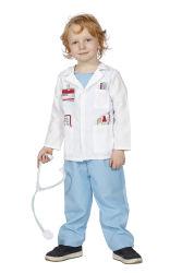 Kinderkostuum Dokter - incl. stethoscoop