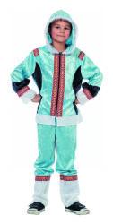 Eskimo Kostuum voor Kinderen - blauw