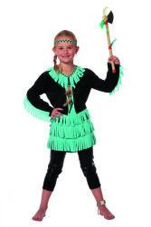 Kinderkostuum Indiaan Wishbone voor Meisjes