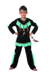Kinderkostuum Indiaan Wishbone voor Jongens