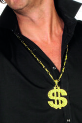 Pooierketting luxe dollar